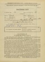 Popis prebivalstva 31. 3. 1931<br />Ljubljana<br />Pod gozdom 10<br />Population census 31 March 1931