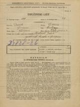 Popis prebivalstva 31. 3. 1931<br />Ljubljana<br />Pod gozdom 4<br />Population census 31 March 1931