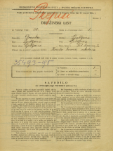Popis prebivalstva 31. 3. 1931<br />Ljubljana<br />Pod Turnom 2<br />Population census 31 March 1931