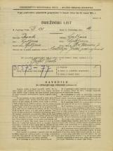 Popis prebivalstva 31. 3. 1931<br />Ljubljana<br />Pod Turnom 7<br />Population census 31 March 1931