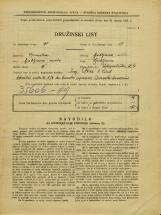 Popis prebivalstva 31. 3. 1931<br />Ljubljana<br />Pokopališka cesta 4<br />Population census 31 March 1931