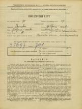 Popis prebivalstva 31. 3. 1931<br />Ljubljana<br />Pokopališka cesta NN2<br />Population census 31 March 1931