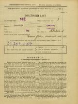 Popis prebivalstva 31. 3. 1931<br />Ljubljana<br />Polakova ulica 3<br />Population census 31 March 1931