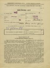 Popis prebivalstva 31. 3. 1931<br />Ljubljana<br />Polakova ulica 7<br />Population census 31 March 1931