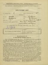 Popis prebivalstva 31. 3. 1931<br />Ljubljana<br />Poljanska cesta 10<br />Population census 31 March 1931