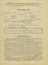Popis prebivalstva 31. 3. 1931<br />Ljubljana<br />Poljanska cesta 11<br />Population census 31 March 1931