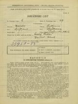 Popis prebivalstva 31. 3. 1931<br />Ljubljana<br />Poljanska cesta 12<br />Population census 31 March 1931