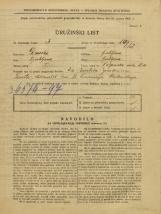 Popis prebivalstva 31. 3. 1931<br />Ljubljana<br />Poljanska cesta 16<br />Population census 31 March 1931