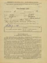 Popis prebivalstva 31. 3. 1931<br />Ljubljana<br />Poljanska cesta 21<br />Population census 31 March 1931