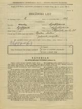 Popis prebivalstva 31. 3. 1931<br />Ljubljana<br />Poljanska cesta 25<br />Population census 31 March 1931