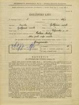 Popis prebivalstva 31. 3. 1931<br />Ljubljana<br />Poljanska cesta 28<br />Population census 31 March 1931