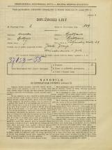 Popis prebivalstva 31. 3. 1931<br />Ljubljana<br />Poljanska cesta 29<br />Population census 31 March 1931
