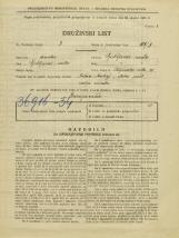 Popis prebivalstva 31. 3. 1931<br />Ljubljana<br />Poljanska cesta 30<br />Population census 31 March 1931