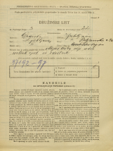 Popis prebivalstva 31. 3. 1931<br />Ljubljana<br />Poljanska cesta 38<br />Population census 31 March 1931