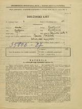 Popis prebivalstva 31. 3. 1931<br />Ljubljana<br />Poljanska cesta 6<br />Population census 31 March 1931