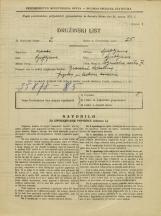Popis prebivalstva 31. 3. 1931<br />Ljubljana<br />Poljanska cesta 7<br />Population census 31 March 1931