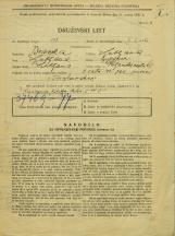 Popis prebivalstva 31. 3. 1931<br />Ljubljana<br />Poljanska cesta 40<br />Population census 31 March 1931