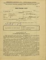 Popis prebivalstva 31. 3. 1931<br />Ljubljana<br />Poljanska cesta 41<br />Population census 31 March 1931