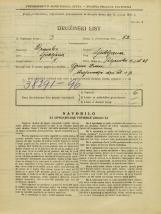 Popis prebivalstva 31. 3. 1931<br />Ljubljana<br />Poljanska cesta 48<br />Population census 31 March 1931