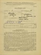 Popis prebivalstva 31. 3. 1931<br />Ljubljana<br />Poljanska cesta 49<br />Population census 31 March 1931