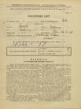 Popis prebivalstva 31. 3. 1931<br />Ljubljana<br />Poljanska cesta 51<br />Population census 31 March 1931