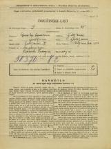 Popis prebivalstva 31. 3. 1931<br />Ljubljana<br />Poljanska cesta 53<br />Population census 31 March 1931