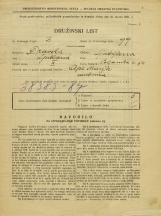 Popis prebivalstva 31. 3. 1931<br />Ljubljana<br />Poljanska cesta 54<br />Population census 31 March 1931