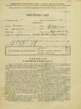 Popis prebivalstva 31. 3. 1931<br />Ljubljana<br />Poljanska cesta 55<br />Population census 31 March 1931
