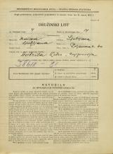 Popis prebivalstva 31. 3. 1931<br />Ljubljana<br />Poljanska cesta 60<br />Population census 31 March 1931