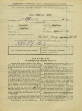Popis prebivalstva 31. 3. 1931<br />Ljubljana<br />Poljanska cesta 62<br />Population census 31 March 1931
