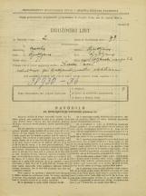 Popis prebivalstva 31. 3. 1931<br />Ljubljana<br />Poljanski nasip 22<br />Population census 31 March 1931