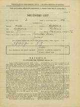 Popis prebivalstva 31. 3. 1931<br />Ljubljana<br />Poljanski nasip 32<br />Population census 31 March 1931
