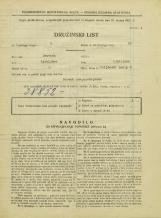 Popis prebivalstva 31. 3. 1931<br />Ljubljana<br />Poljanski nasip 8<br />Population census 31 March 1931