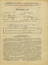 Popis prebivalstva 31. 3. 1931<br />Ljubljana<br />Posavskega ulica 7<br />Population census 31 March 1931