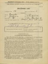 Popis prebivalstva 31. 3. 1931<br />Ljubljana<br />Posavskega ulica 9<br />Population census 31 March 1931