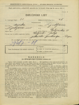 Popis prebivalstva 31. 3. 1931<br />Ljubljana<br />Postojnska ulica 11<br />Population census 31 March 1931