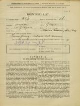Popis prebivalstva 31. 3. 1931<br />Ljubljana<br />Pot na Rakovo jelšo NN9<br />Population census 31 March 1931