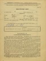 Popis prebivalstva 31. 3. 1931<br />Ljubljana<br />Pražakova ulica 3<br />Population census 31 March 1931