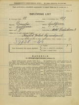 Popis prebivalstva 31. 3. 1931<br />Ljubljana<br />Pražakova ulica 8<br />Population census 31 March 1931