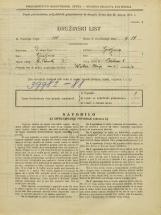 Popis prebivalstva 31. 3. 1931<br />Ljubljana<br />Prečna ulica 8<br />Population census 31 March 1931
