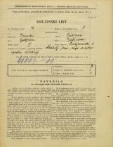 Popis prebivalstva 31. 3. 1931<br />Ljubljana<br />Predjamska ulica 1<br />Population census 31 March 1931
