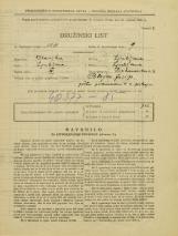 Popis prebivalstva 31. 3. 1931<br />Ljubljana<br />Prekmurska cesta 3<br />Population census 31 March 1931