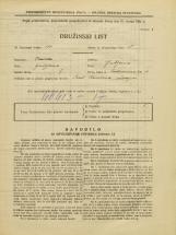 Popis prebivalstva 31. 3. 1931<br />Ljubljana<br />Prekmurska cesta 4<br />Population census 31 March 1931