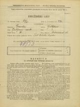 Popis prebivalstva 31. 3. 1931<br />Ljubljana<br />Prešernova ulica 34<br />Population census 31 March 1931