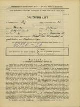 Popis prebivalstva 31. 3. 1931<br />Ljubljana<br />Prešernova ulica 52<br />Population census 31 March 1931
