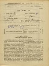 Popis prebivalstva 31. 3. 1931<br />Ljubljana<br />Prešernova ulica 7<br />Population census 31 March 1931
