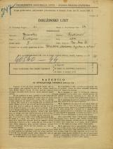 Popis prebivalstva 31. 3. 1931<br />Ljubljana<br />Pri brvi 4<br />Population census 31 March 1931