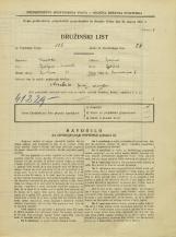 Popis prebivalstva 31. 3. 1931<br />Ljubljana<br />Ravniharjeva ulica 5<br />Population census 31 March 1931