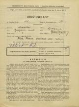 Popis prebivalstva 31. 3. 1931<br />Ljubljana<br />Ravniharjeva ulica 7<br />Population census 31 March 1931