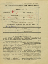 Popis prebivalstva 31. 3. 1931<br />Ljubljana<br />Ravniharjeva ulica 8<br />Population census 31 March 1931
